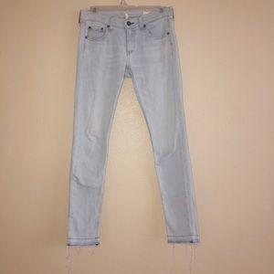 Rag & Bone Dre light wash jeans 24